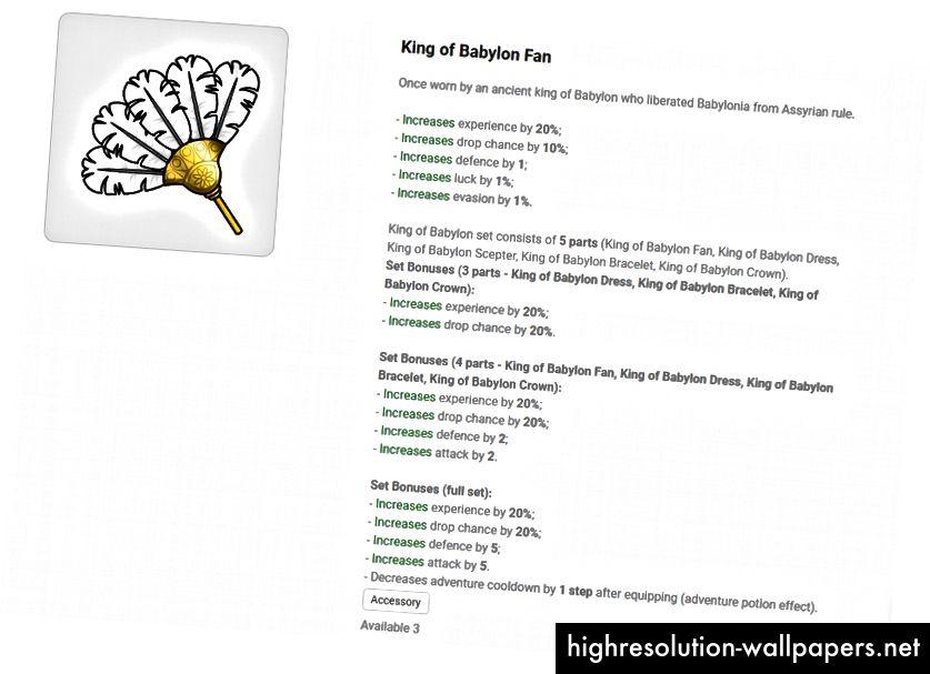 King of Babylon Fan