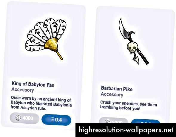 King of Babylon & Barbarian sæt tilbehør fås i potebutikken