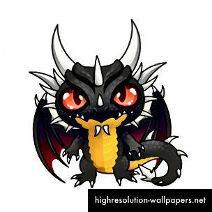 Sí, sigo siendo yo, antiguo dragón negro. ¡Robo el show hoy!