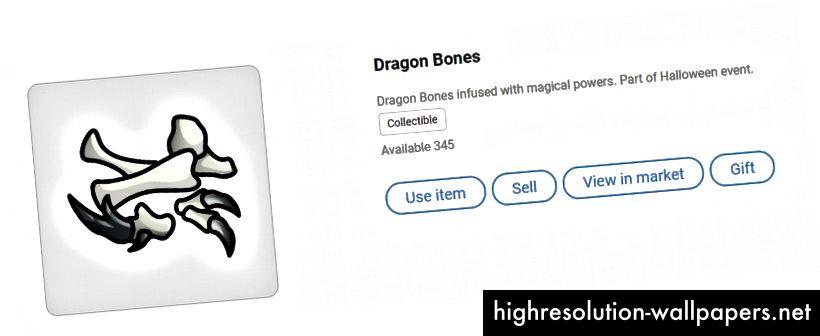 Dragon Bones: el primero de su tipo, un coleccionable