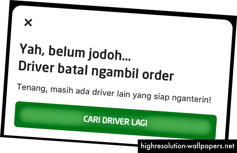 """Dette er den indonesiske version. Vi oversatte ikke æble til æble, men betydningen er den samme. Denne siger noget i retning af: """"Åh, nej. Han er ikke den ene. """""""