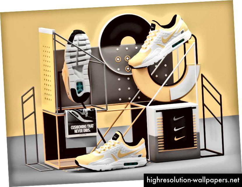 Zasluge: Peter Tarka; https://dribbble.com/shots/3191702-Nike-Air-Max-Zero