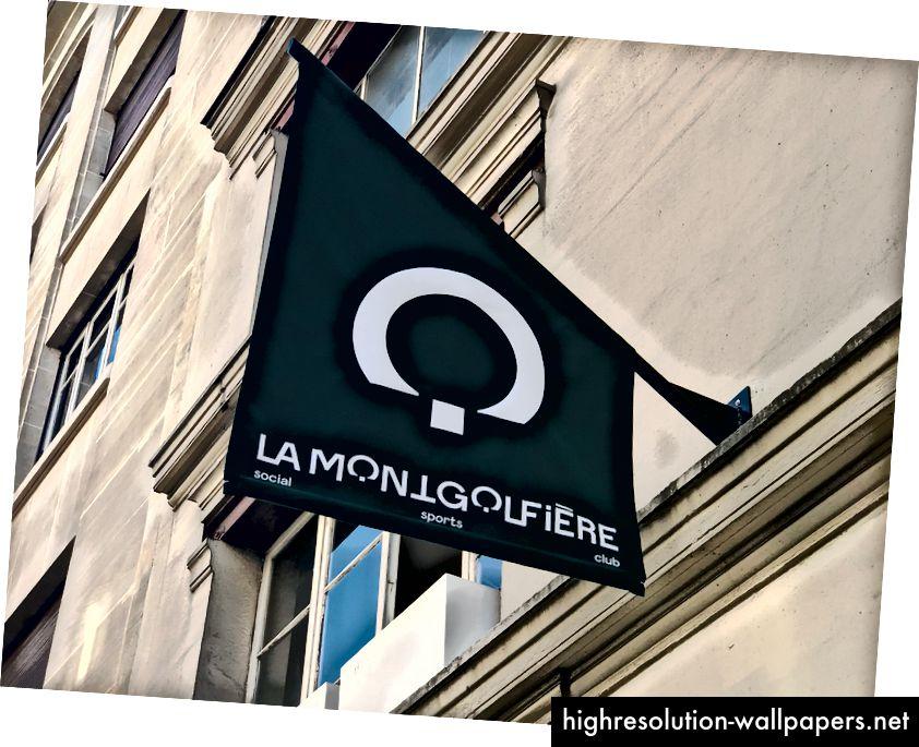 Zasluge: Braća Braća; https://www.behance.net/gallery/68566805/La-Montgolfiere-social-sports-club-Brand-Identity