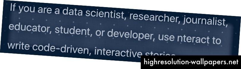 Nteract sülearvutite platvorm reklaamib ennast mitte ainult traditsioonilistele sülearvutite kasutajatele (teadlased ja andmeteadlased), vaid ka laiale publikule, keda huvitab rohkem kui lihtsalt