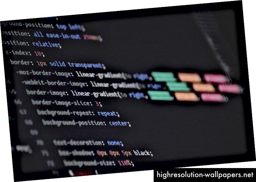 """""""Program script digital wallpaper"""" di Maik Jonietz su Unsplash"""