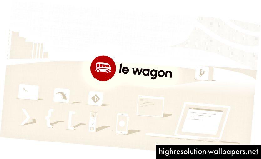 Komplet marke Le Wagon.