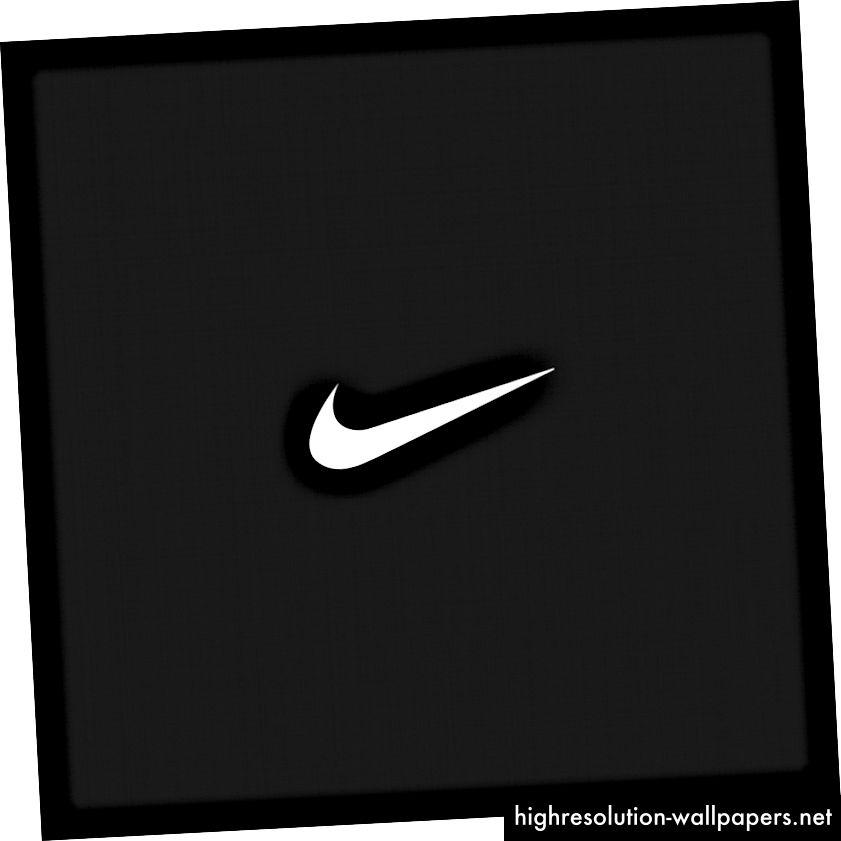 Nikeov logotip može se lako izraditi ručno, van memorije