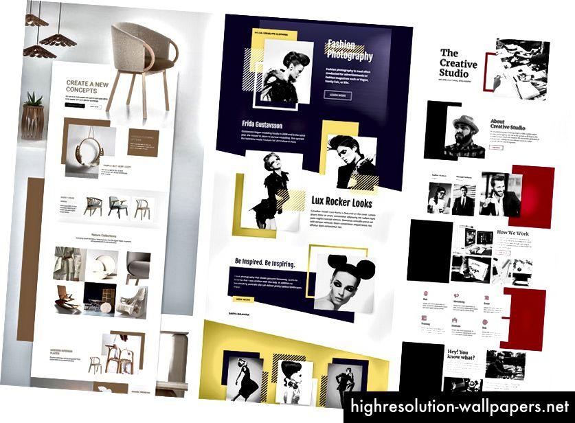 Web Design 3.0-ideer på Pinterest
