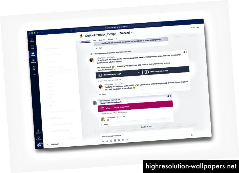"""Vores """"Design Daily"""" -kanal, hvor designere kan dele udforskninger, bede om feedback eller blot få nogle ."""