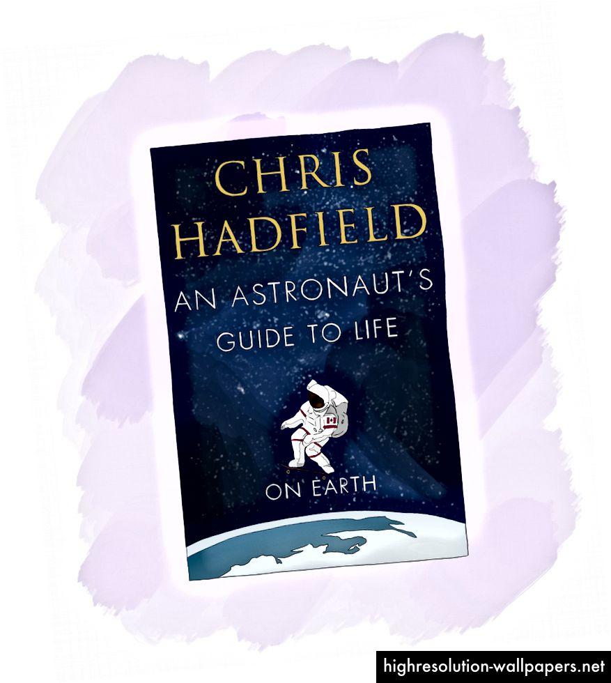 """Bookanbefaling 1: Chris taler om, hvordan han siden 9-årsalderen skulle spørge sig selv, """"hvordan ville en astronaut gøre dette?"""" Det er en utrolig historie med store lektioner om ledelse, motivation og rum."""