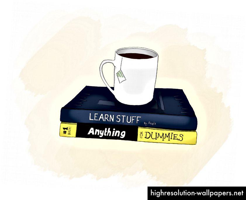 Der er utallige ressourcer til at lære ting. Næsten alt hvad du kan forestille dig, er der sandsynligvis en ressource til at lære det.