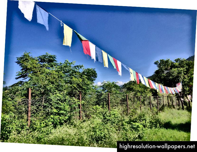 Τις άλλες μέρες, μπορούμε να βρούμε ψύχρα στο Μπουτάν