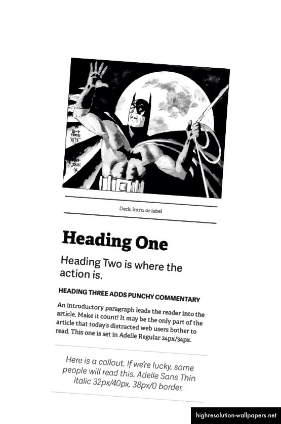 Представи си това! Типографията и бялото пространство могат да насърчат внимателното четене.