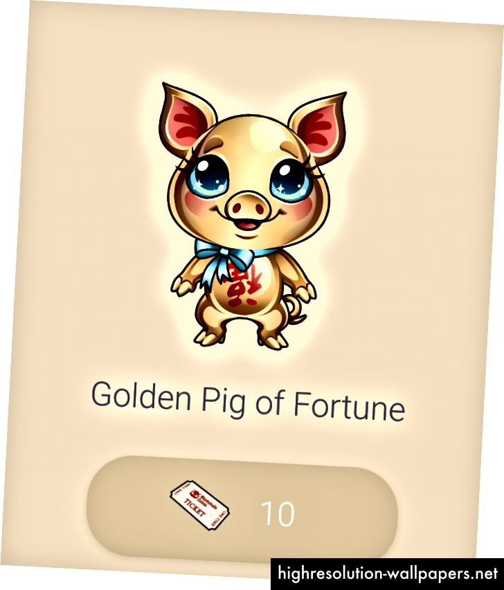 Golden Pig of Fortune