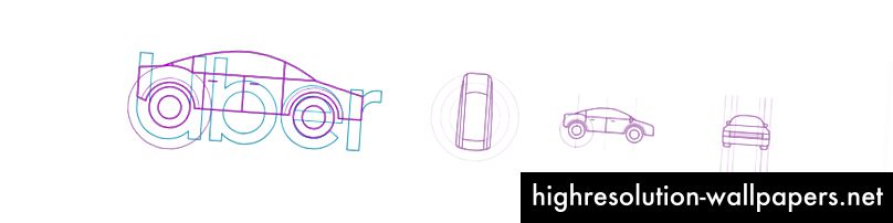Tidlig undersøgelse af køretøjet fra vores logo