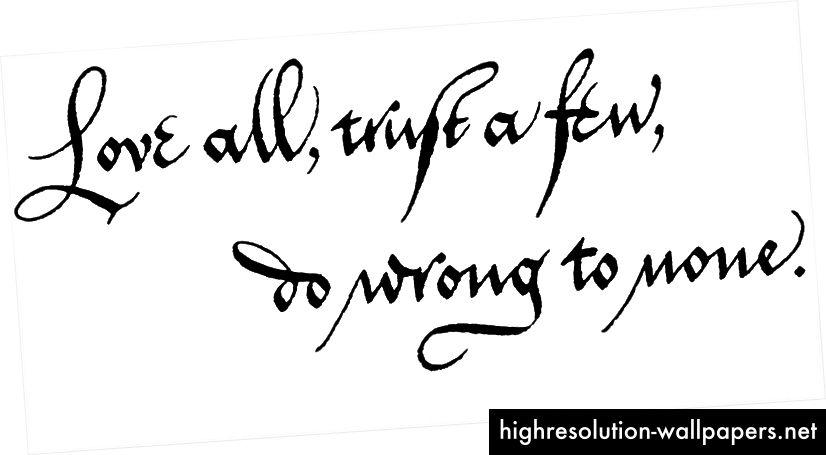 Kalligrafi: Stefanie Weigele