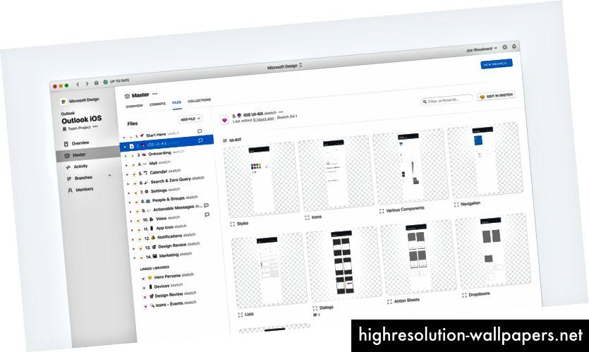 Файлът на iOS UI-Kit съдържа както лист със стикери, така и самите символи