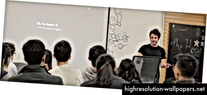Dylan je govorio na našem nedavnom događaju Figma Design Talk