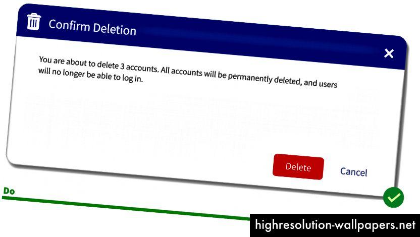 Si los botones principales están generalmente en el lado derecho, entonces su instinto inicial será hacer clic en Cancelar.