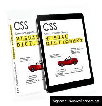 CSS Visual Dictionary 28% de descuento para lectores medianos.