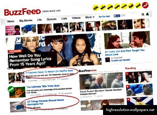 Buzzfeed koristi arhitekturu dezinformacija kako bi prikrio složenosti digitalnog svijeta.