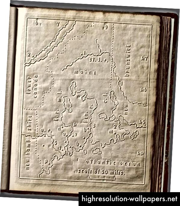 Atlas for de blinde