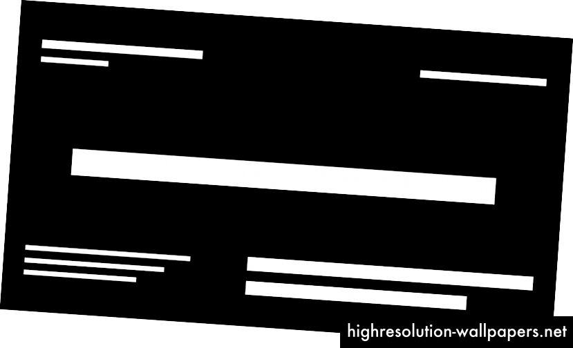 Η υπερφορτωμένη σύνθεση (αριστερά) έναντι μιας σύνθεσης ισορροπίας (δεξιά).