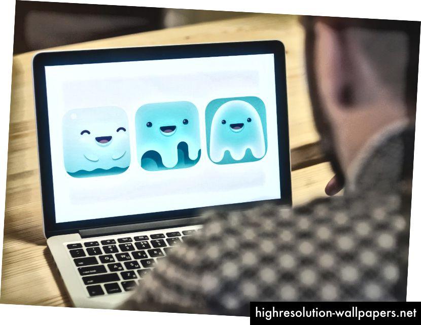 Kreativ søgning af maskoter til Saily App-logo