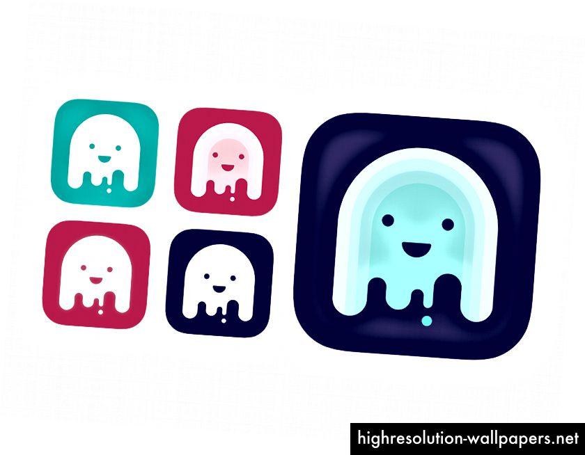 Indstillinger for baggrundsfarve til Saily App-logo