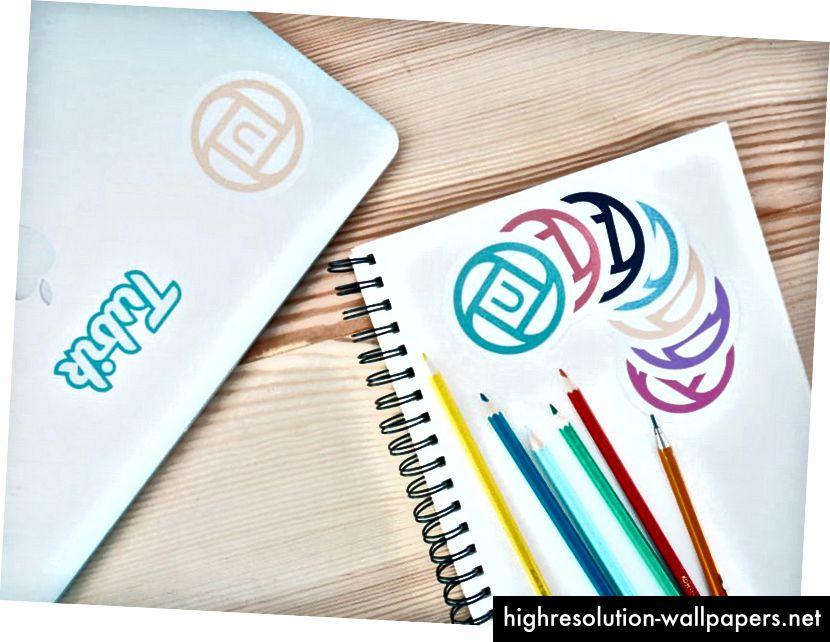 Design4Users logo testet i tryk