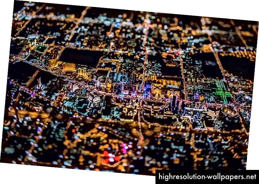 Gradovi su duboko složene inkarnacije kulturne evolucije. Kreditna slika: Vincent Laforet