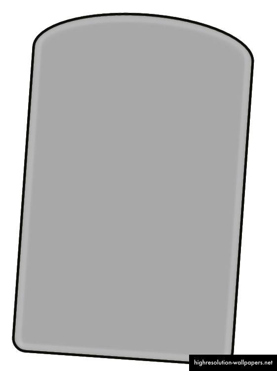 Slika okvira kalkulatora izrađenog iznad CSS-a