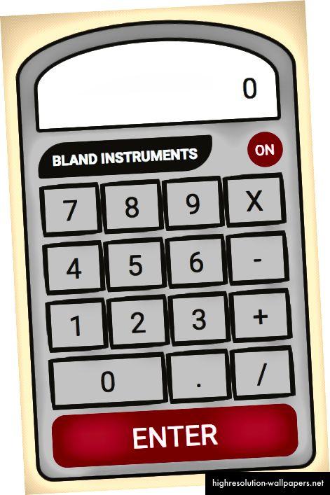 Slika koja prikazuje animaciju gumba kalkulatora iz CSS-a iznad
