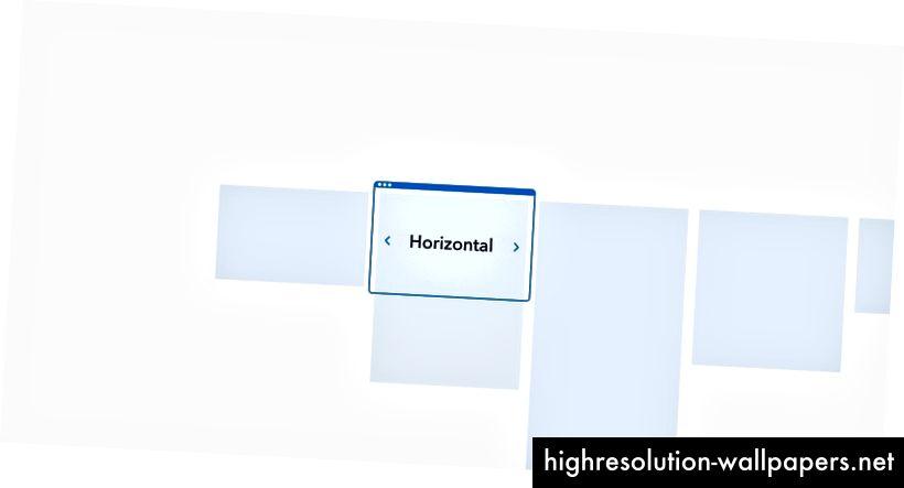 Páginas en el visor horizontal