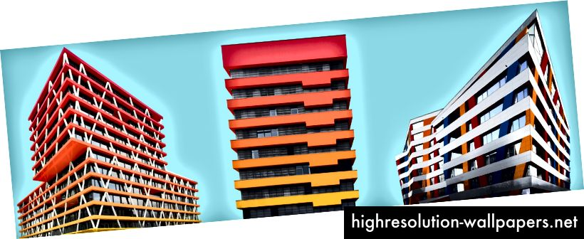 Un colorido cambio de imagen de la arquitectura | Paul Eis