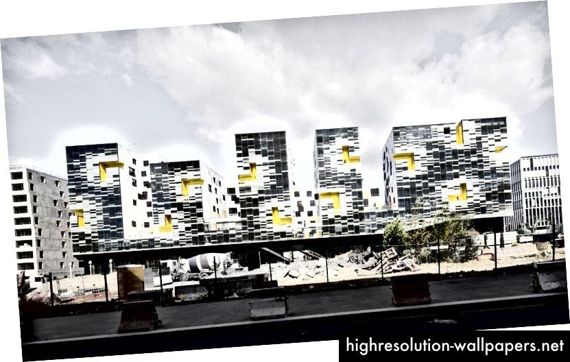 Bloques de apartamentos en Nanterre por X-TU   Luc Boegly