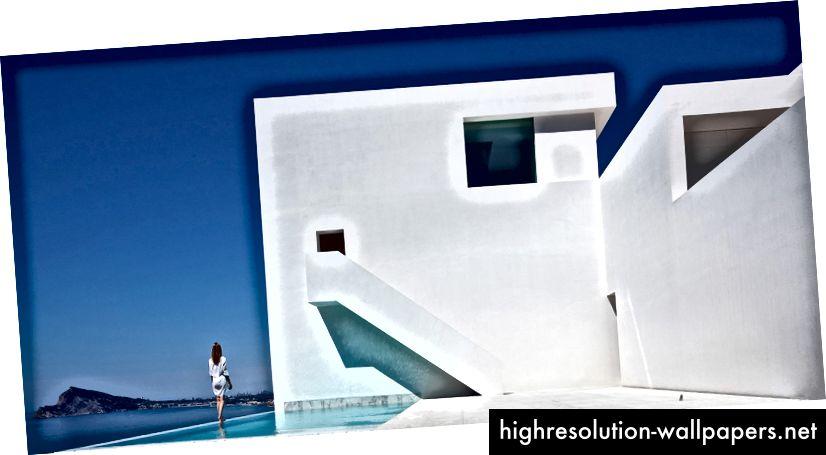Casa del Acantilado por Fran Silvestre Arquitectos