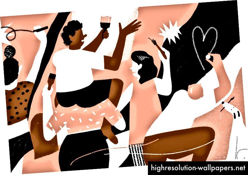 Illustration af Lucy Sherston