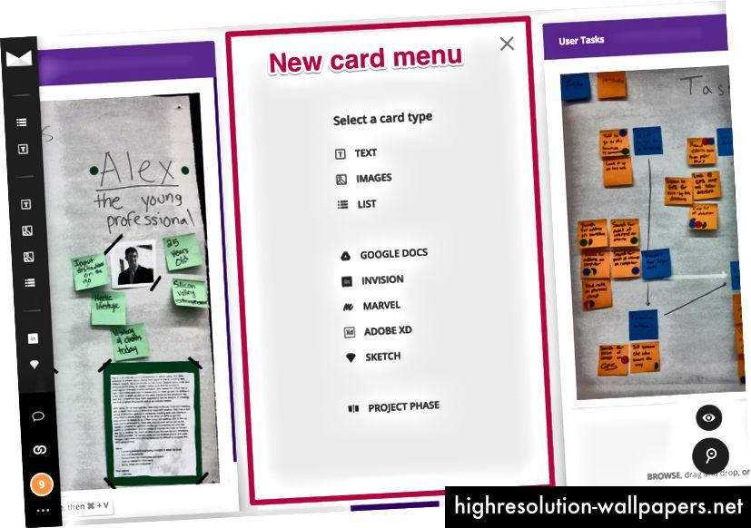 Izazov: Povećajte širinu izbornika Nova kartica i gurnite sljedeće kartice udesno