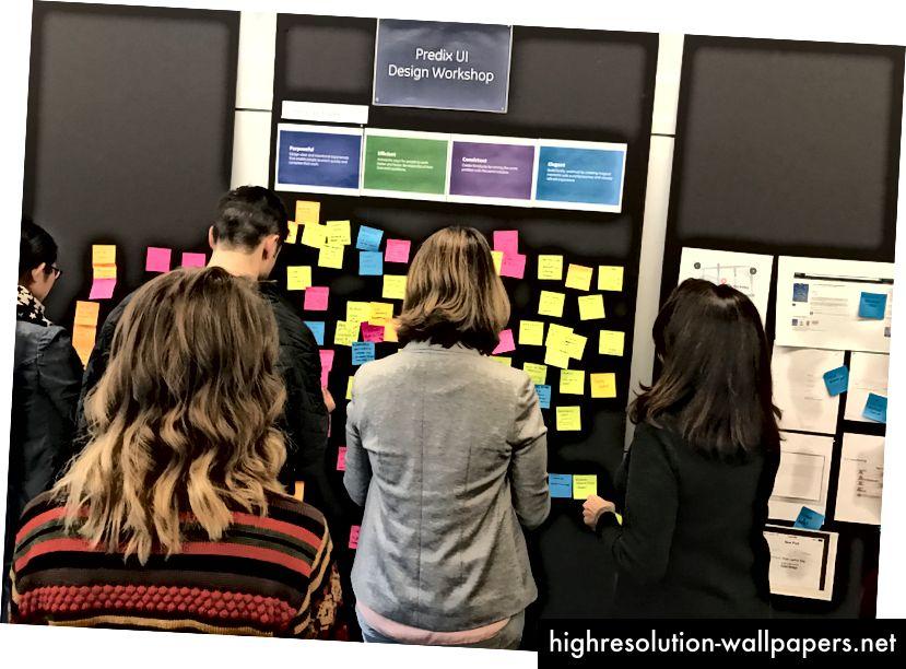 Principi dizajna omogućili su nam zajednički jezik za razgovor o radu i okviru za mjerenje s neposrednim timom i timovima proizvoda.