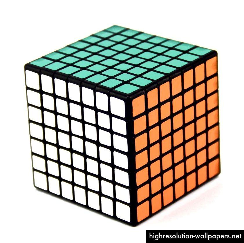 7x7 terning fra Alacube