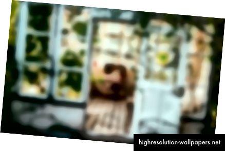Замагљена слика са укљученим клипом, можете уочити оштре ивице.