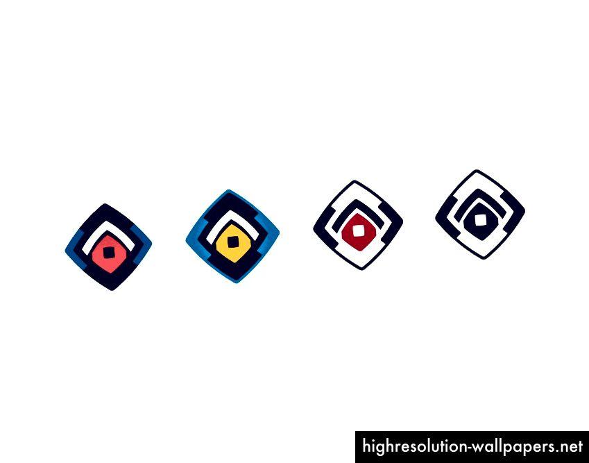 Pilihan geometri berdasarkan rombus