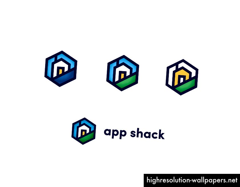 Pilihan geometri berdasarkan segi segi enam dengan sudut yang tajam