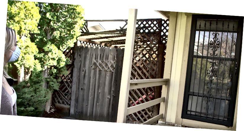 Captura de pantalla de un minidoc de nuestra investigación que muestra a Autumn Brewster entrevistando a Goldbaum a través de su puerta principal. Video completo aquí: https://www.youtube.com/watch?v=_WEK3RbvDmY