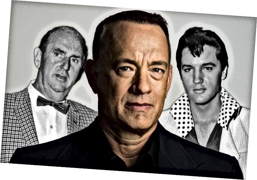 Tom Hanksin Elvis-elämäkuva on keskeyttänyt tuotannon (äänen seuraus)