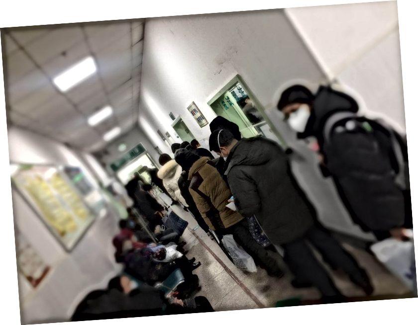 Pakattu sairaala. (Kuvavalokuva: Xiong. Tämä kuva sumennettiin yksityisyyden suojaamiseksi.)