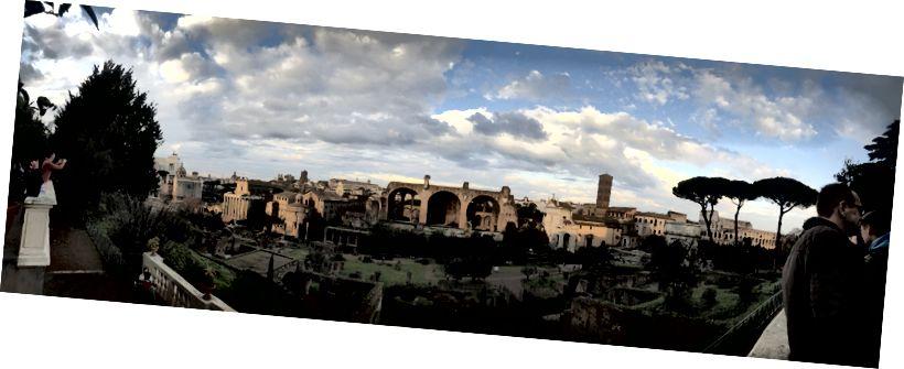 Romas forums (manas iecienītākās senās drupas)