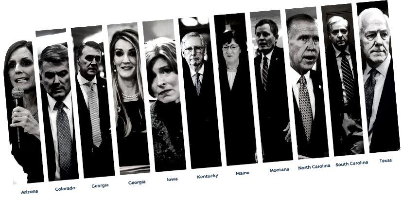 Takaisinmaksuprojektin luettelo yksitoista senaatin tavoitteesta