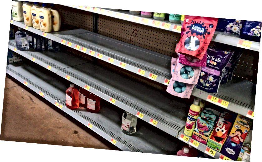 ¡No más desinfectante para manos! Colorado WalMart